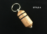 Handmade Scotch Whisky Barrel Key-ring , Key Ring, Whisky Gift made in Scotland, 5th Anniversary wood,  Best Man Gift