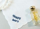 happy tears handkerchief,