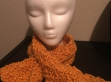 Keyhole Scarf - Mustard Gold