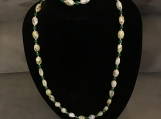 Marble Green Necklace