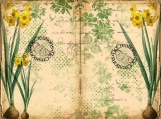 March Daily Journal Vintage Printable Journal Kit