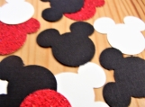 Mickey Mouse Inspired Confetti, Die Cuts