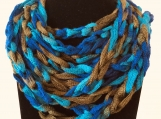 Multi Color Chain Scarf