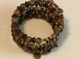 Natural Stone & Wood Bracelet