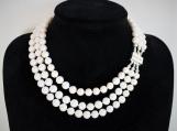 Elegant Necklace Organic Pearls