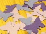 Purple Butterfly Die Cuts, Scrap Booking Die cuts