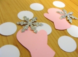 Snowflake and Mitten Die Cuts