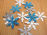 Snowflake die cuts, Winter Wonderland Party