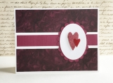 Two Hearts Love Card