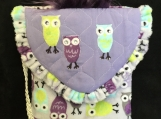 We Three Owls Cross Body Bag