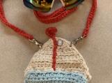 Crossbody/coin purse Sailboat