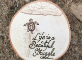 Cute Turtle Magnet,Inspirational Quote Magnet,Uplifting Gifts
