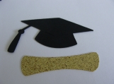 Graduation Hat and Diploma