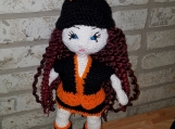 Hippie Crochet Doll