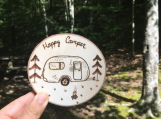 Happy Camper Magnet,Happy Camper Decor,Camping Lover Gifts