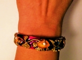 Indian Mughal design painted bangle