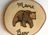 Mama Bear Magnet,Mama Bear Decor,Woodland Animal Magnets