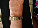 modern design Indian painted cuff bangle