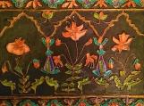 Mughal floral panel