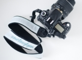 personalized embroidered DSLR camera strap