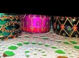 Set of 3 large tea light candle holders | Diwali Christmas wedding festive