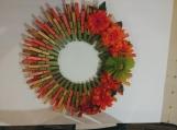 Spring 110 Clothespins Wreath Decor