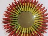 Spring 111 Clothespins Wreath Decor