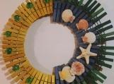 Spring 114 Clothespins Wreath Decor