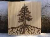 Woodland Wedding Table Sign, Pine Tree Sign, Wood Burned Items