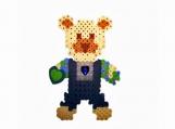 Bead Magnet - Bear Heart Love