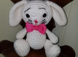 Bunny with Carrot, Handcrafted for that special one , birthdays,