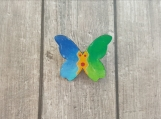 Butterfly Pin - Wooden Butterfly - Boho Butterfly - Gift for Her