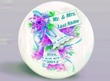 Custom Name  - Mr. & Mrs. Wedding Magnet - Personalized