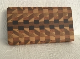 End grain cutting board - handmade