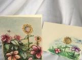 Garden Sketch Note card