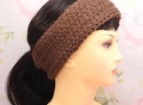 Knit-look ribbed headband **PDF Pattern**