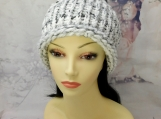 Marble knit beanie| Winter knit beanies| Ribbed knit beanie