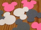Minnie Mouse Inspired Confetti. Baby Shower Decorations.