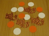 Orange Fox Party Decorations, Animal party decor