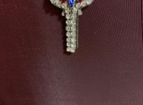 Patriotic Key pendant