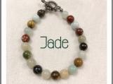 Rainbow of Jade bracelet