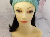 Sea green hat| With pom pom