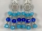Sky Blue Earring-Sapphire Blue Earring-Blue Earring