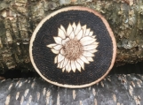 Sunflower Magnet,Wood Magnets,Gifts for Mom,Sunflower Decor
