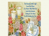 Wedding Poem by Rita Sullivan, James 1 vs 17, Printable 11 x  14