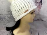 Winter knit beanie