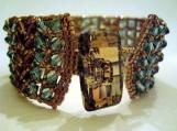 Cleo Bracelet - Swarovski Crystals Cuff