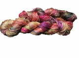 100% Pure Mulberry Silk 3-ply hand Tie and Dyed yarn