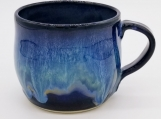 "3"" Black/Blue Cappuccino Mug - 161552"