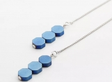 925 Sterling Silver Drop Earrings Long Chain Earrings For Women